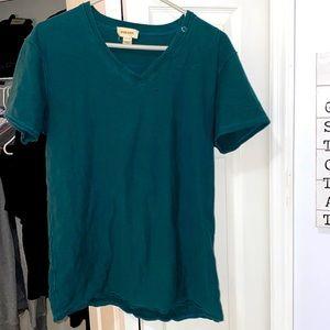 Diesel euc vintage aqua Vee neck XL shirt